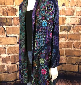 Tuscany Embroidered Duster