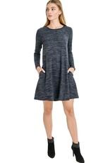 Rosemary Knit Swing Dress