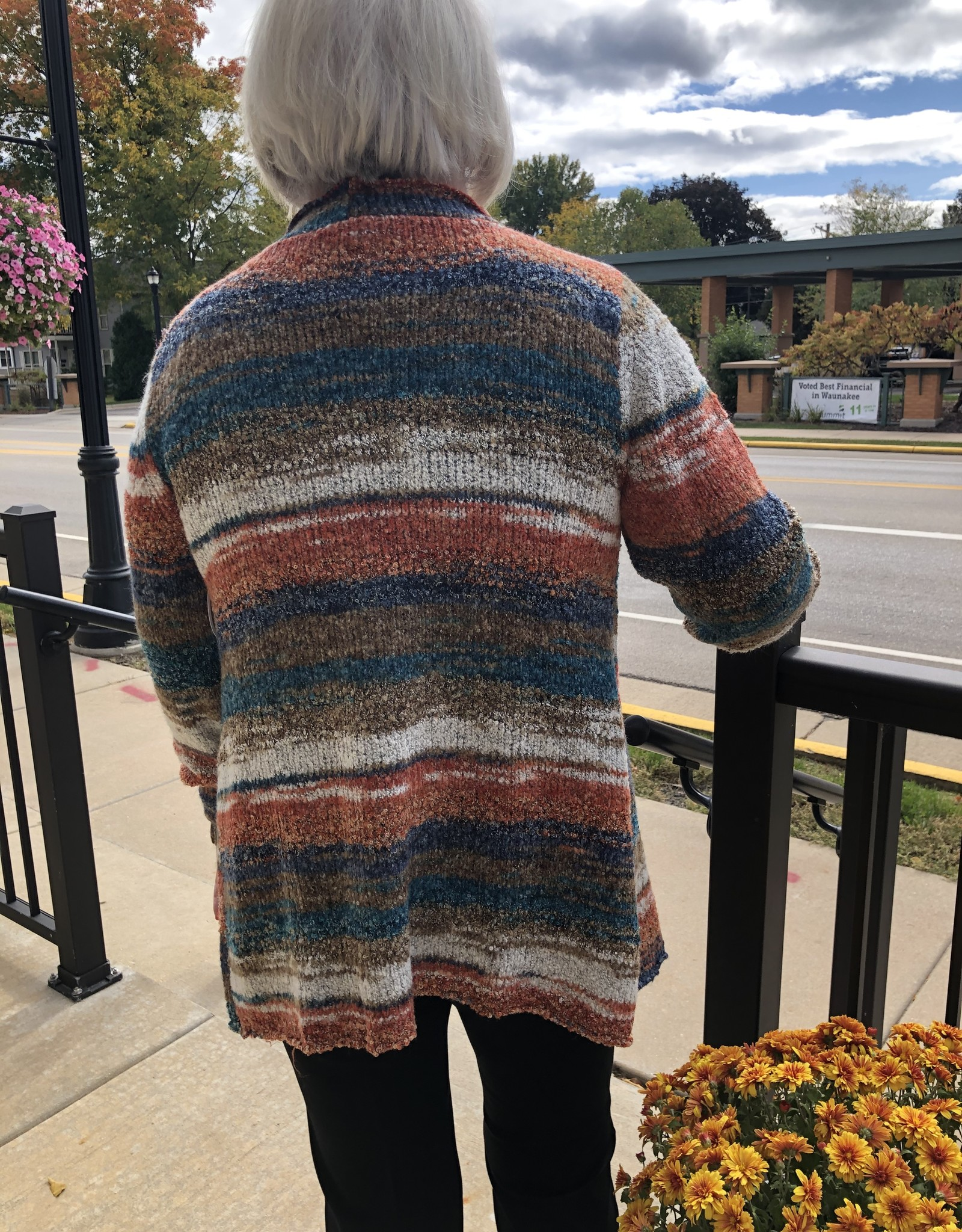 Florence Open Wrap Sweater