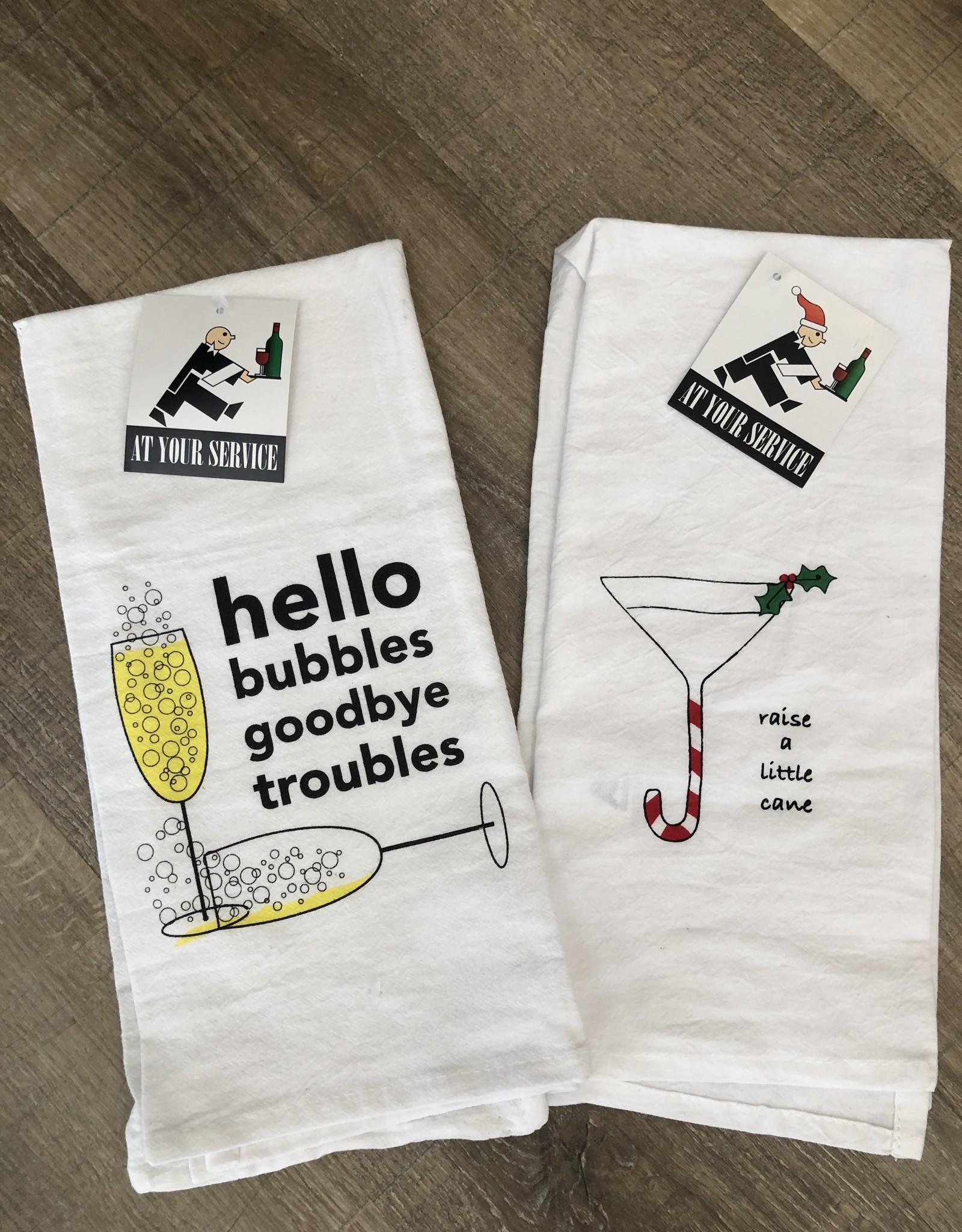 Raise A Little Cane Towel