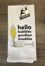Hello Bubbles Towel