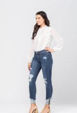 Josie Cuff Hem Skinny Jeans