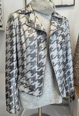 Briana Houndstooth Jacket