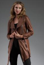 Josephine Textured Vegan Jacket