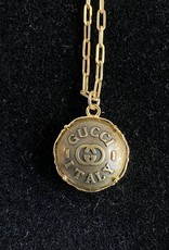Gucci Italy Gold Necklace