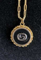 Gucci Black/Gold Necklace