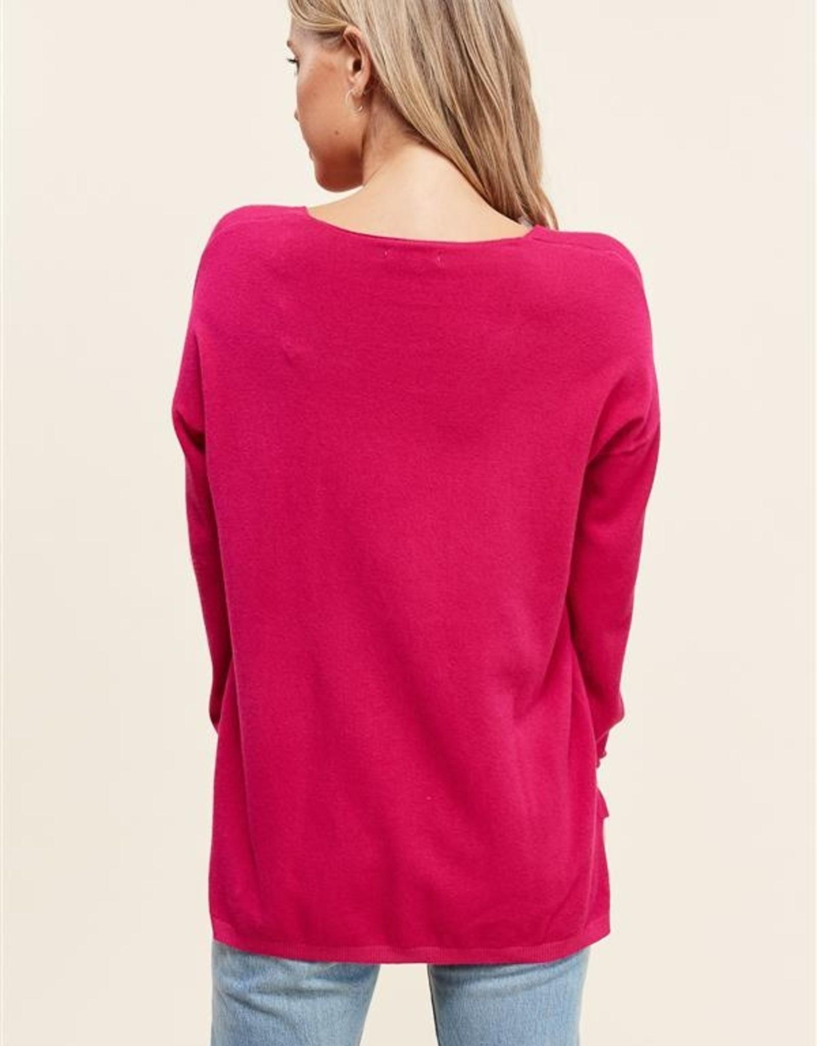 Veronica V Neck Sweater