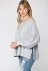 Robyn Ribbed Knit Sweater