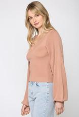 Selena Crop Sweater