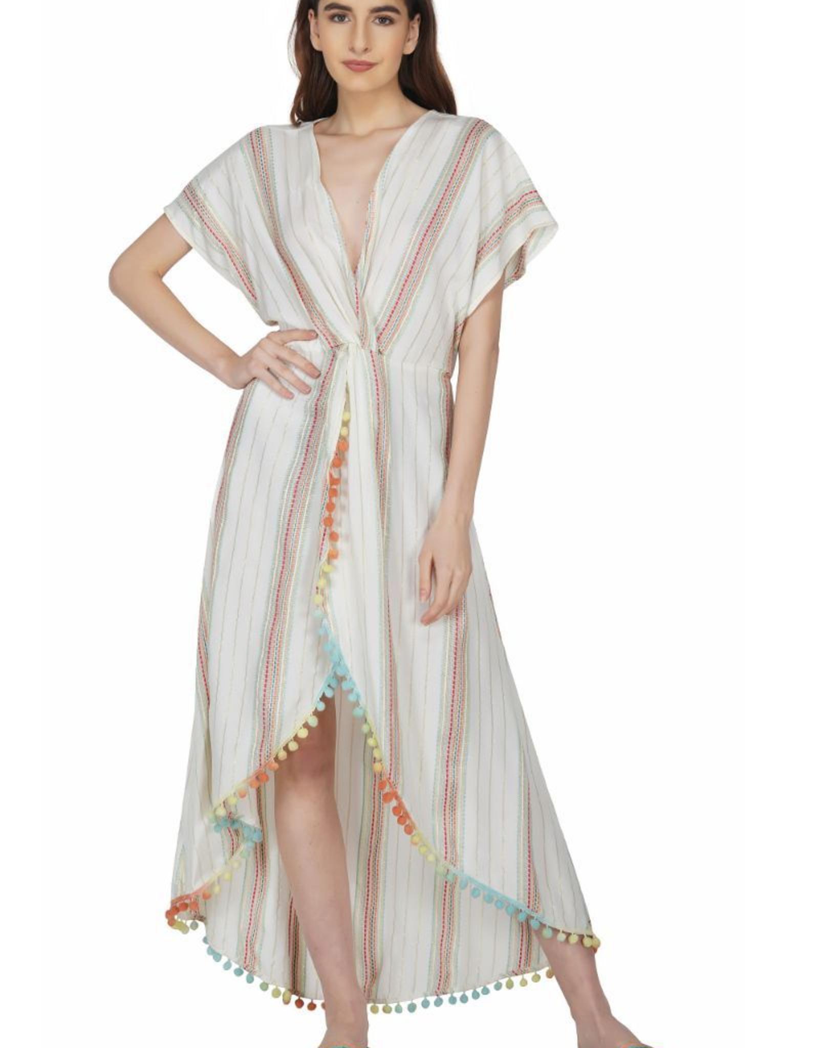 Aurora Rose Maxi Dress