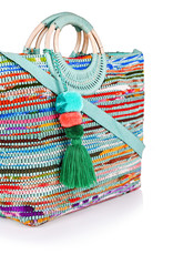 Upcycled Handwoven Tote