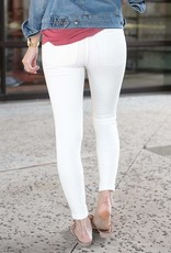 Distressed Ankle Jeggings