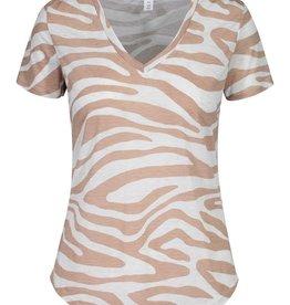 Shannon Zebra Print Top