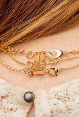Triple Layer Clasp - Rose Gold