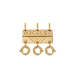Triple Layer Clasp - Gold