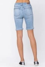 Judy Blue Jenna Destroyed Bermuda Shorts