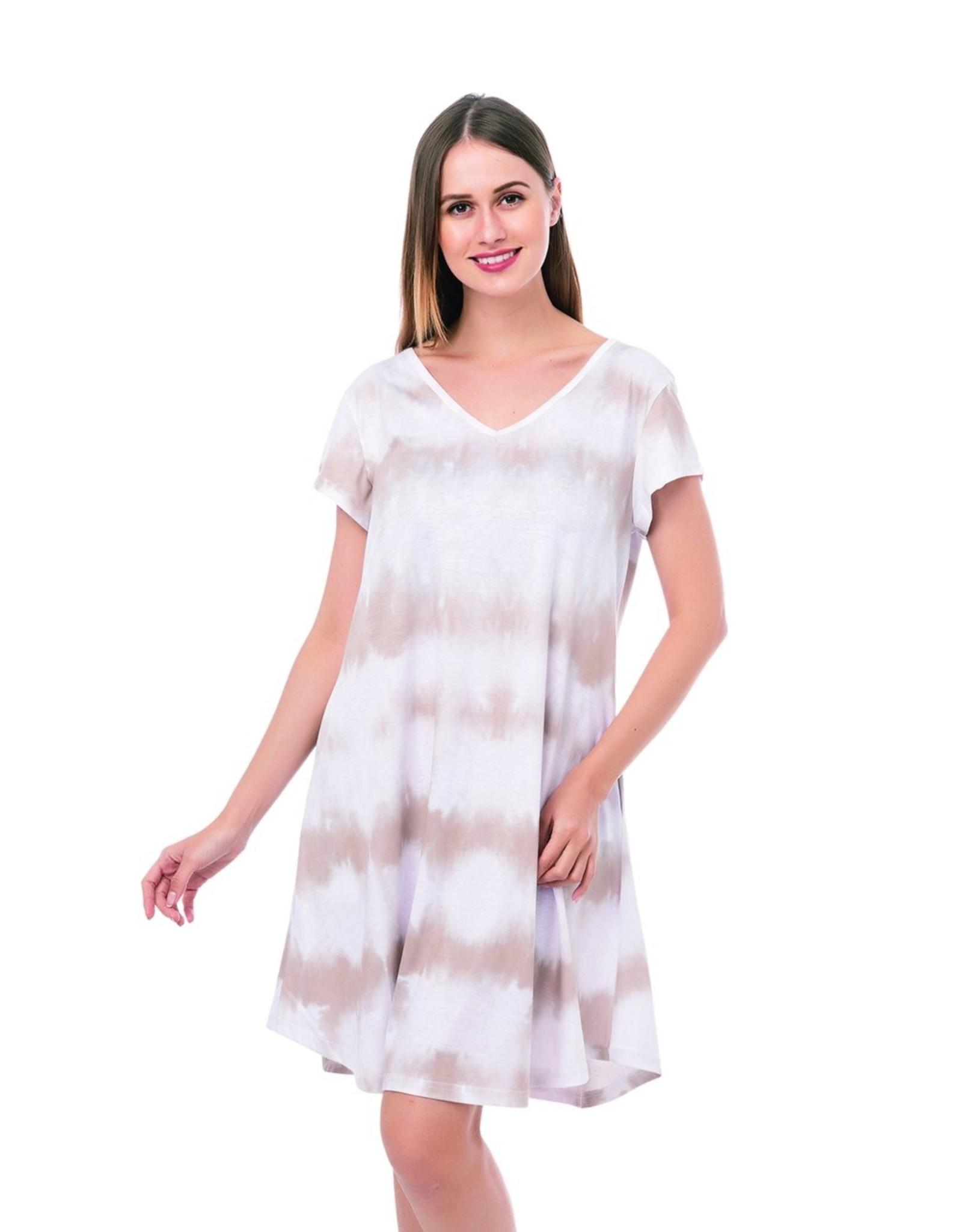 Masiey Tie-dye Pocket Dress