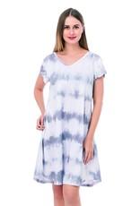 Matty Tie-dye Pocket Dress