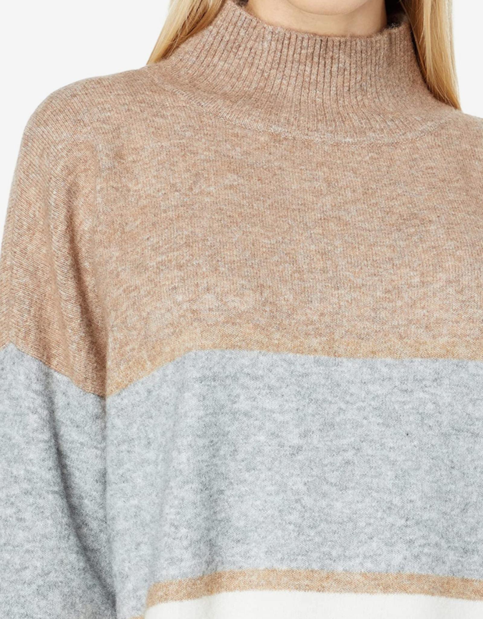 Annie Mock Neck Sweater