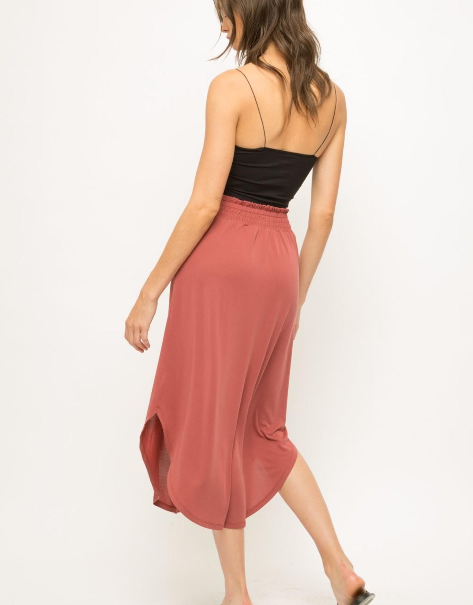 Monica Smocked Skirt