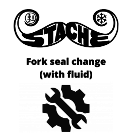Fork seal change (with fluid)