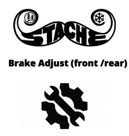 Brake Adjust (front /rear)