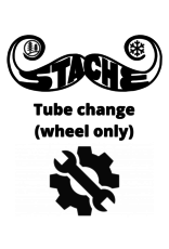 Tube change (Wheel only)