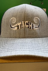 Stache Flat Bill Hat
