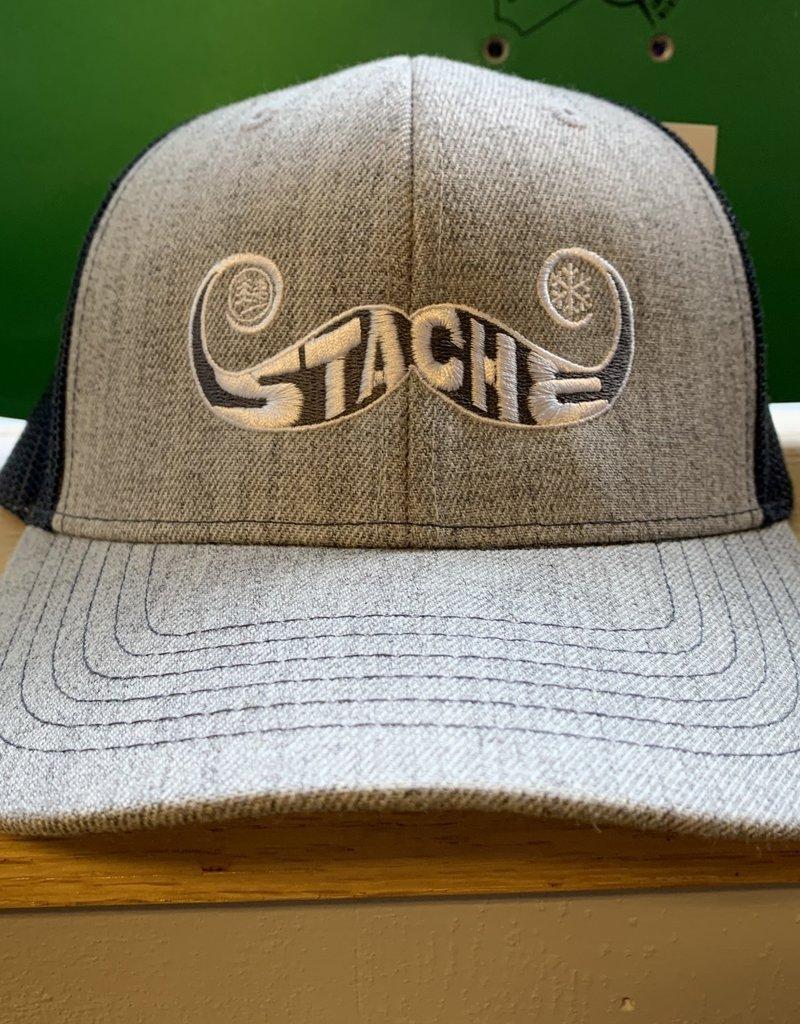 Stache Flat Bill Hat