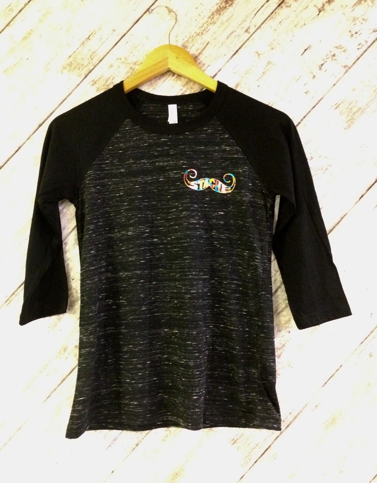 Stache 3/4 Sleve shirt