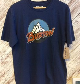 Burton Men's Retro Mtn SS T-Shirt Blue M