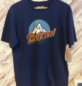 Burton Men's Retro Mtn SS T-Shirt Blue M