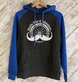 Stache Sweatshirt Blue