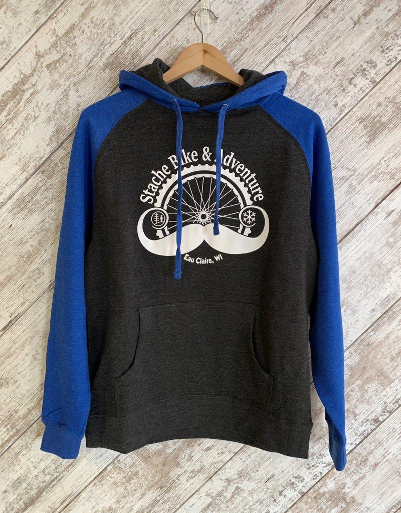 Stache Sweatshirt Blue