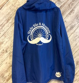 Stache Jacket- Blue