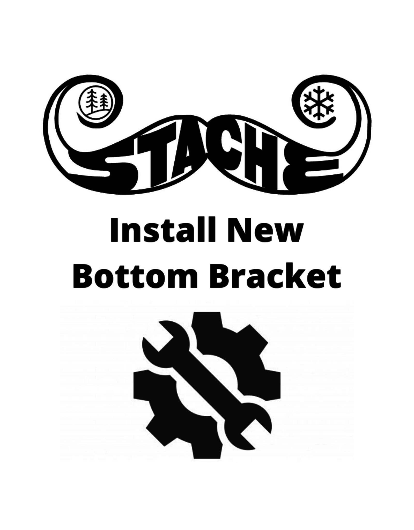 Install New Bottom Bracket
