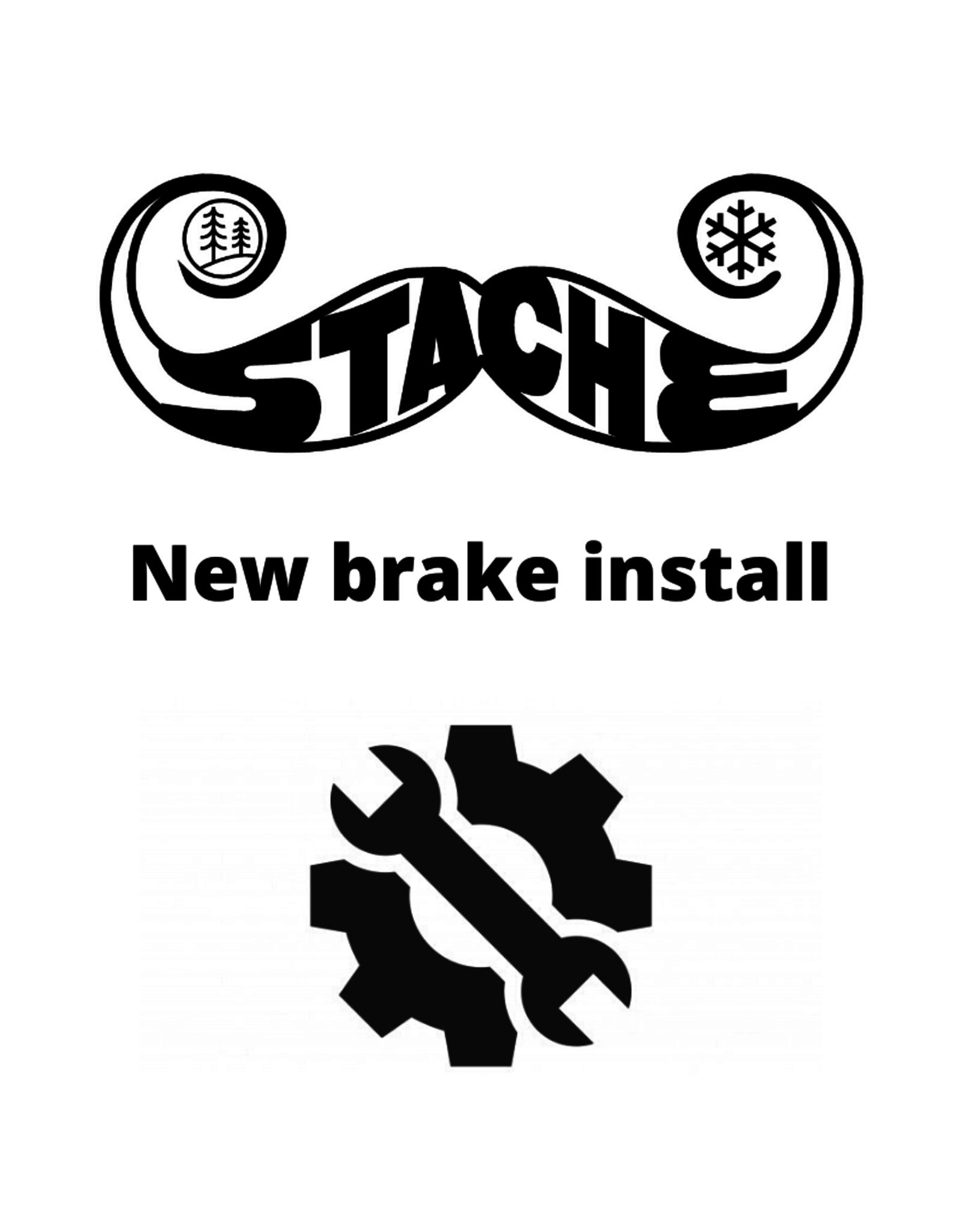 New brake install