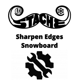 Sharpen edges- Snowboard