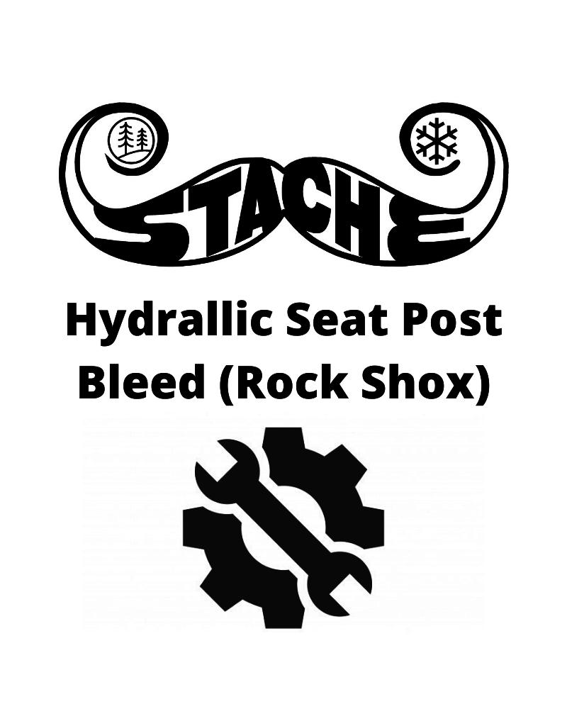 Hydrallic Seat Post Bleed (Rock Shox)