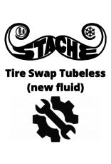 Tire Swap Tubeless (new fluid)