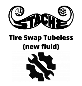Tire Swap Tubeless (new fluid)