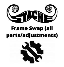 Frame swap (all parts/adjustments)