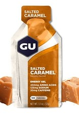 GU GU Energy Gel: Salted Caramel- BOX 24