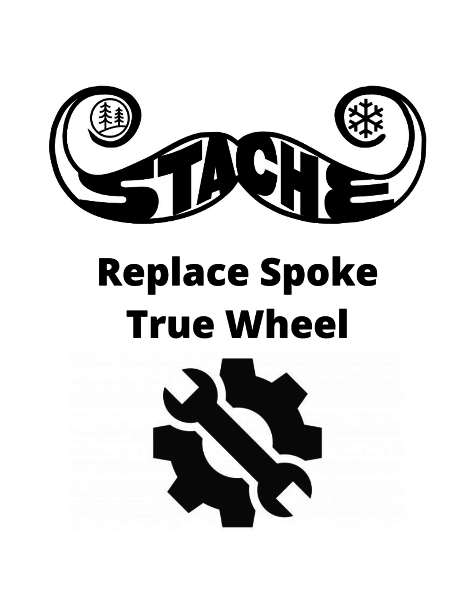 Replace Spoke True Wheel