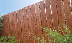 Tanatone Brown Pressure Treated Fencing