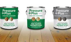 Pressure Plus Wood Stain