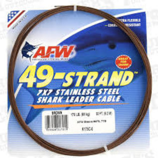 AMERICAN FISHING WIRE AFW 49 STRAND 30FT CABLE