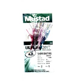 O. MUSTAD & SON, INC. Mustad Baby Squid Ultra Point Sabiki