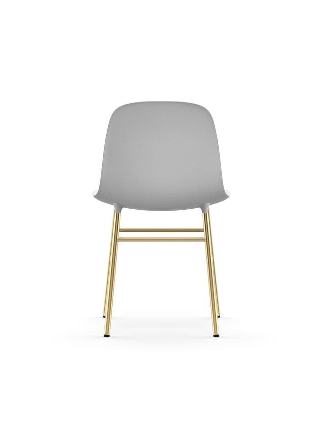 Form Chair Brass