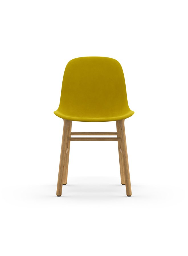 Form Chair Full Upholstery Oak